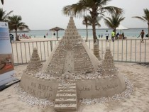 Dubai Municipality Partners With BPG Bates For 'Cigarette' Sandcastle