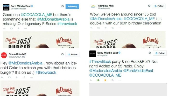 Mcdonald collage