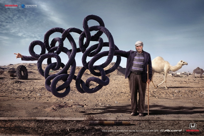 Impact & Echo BBDO's entry 'Confused Arab' from the Silver Lion Campaign for Honda Accord