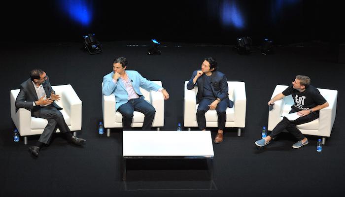 Josh Sapan, David Alpert, Steven Yeun, Jon Gittings