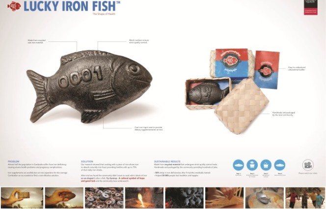 Geometry global memac ogilvy lucky iron fish win for Lucky iron fish controversy