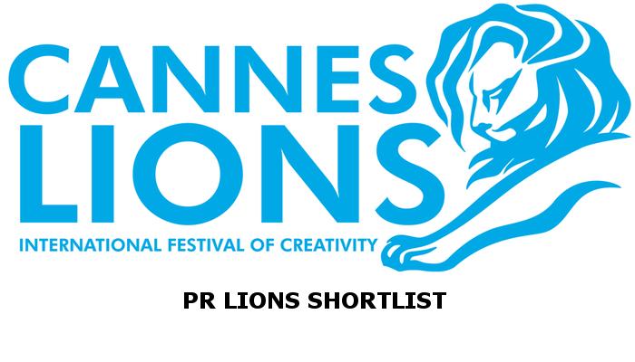 PR Lions Shortlist