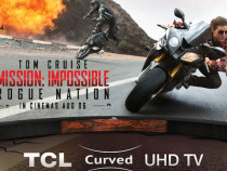 TCL Partners With Mission: Impossible – Rogue Nation Movie