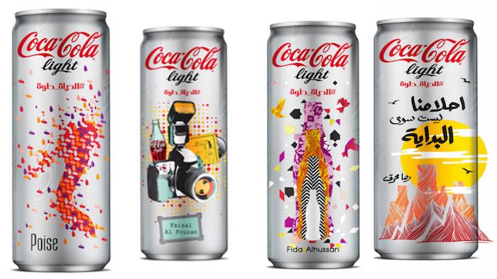 Inspiration & Aspiration Designs Mark New Coca Cola Cans