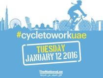 The National Urges #CycleToWorkUAE