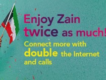 Zain Encourages Users To 'Enjoy Twice As Much'