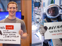 du Rides The Space Wave As FB Live Chats With Astronauts