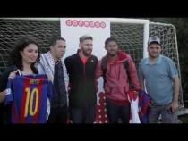 Ooredoo's 'Stand For Good' Winners Meet Leo Messi