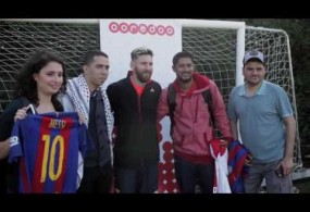 Ooredoo's 'Stand For Good' Winners Meet Leo Messi