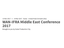 Dubai Production City Gears Up For 12th WAN-IFRA Middle East