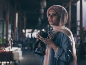 Influencer Haifa Beseisso Campaigns For Canon ME