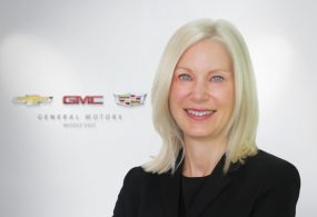 GM Appoints Molly Peck As CMO For Middle East