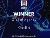Golin Wins PRWeek's 2020 'Global Agency Award'