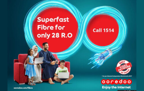 Ooredoo Ups Fiber Home Footprint